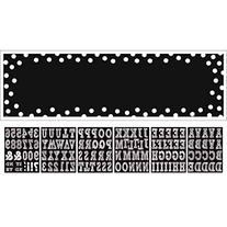 Classic Black and White Birthday Party Customizable Giant