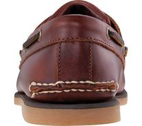 Timberland Men's Classic Boat 2-Eye,Rootbeer Smooth Leather,