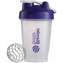 BlenderBottle 20-Ounce Classic Bottle with Loop, Purple