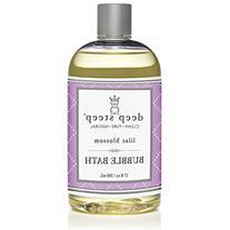 Deep Steep Classic Bubble Bath, Lilac Blossom, 17 Fluid