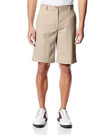 IZOD Men's Classic Fit Golf Short, Khaki, 34W