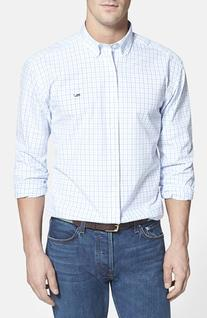 Men's Vineyard Vines 'Whale' Classic Fit Tattersall Check
