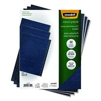 Fellowes Classic Grain Texture Binding System Covers, 11 X 8