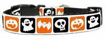 Mirage Pet Products Classic Halloween Nylon Ribbon Collar,