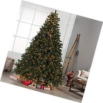 Classic Full Pre-lit Christmas Tree with Berries and Pine