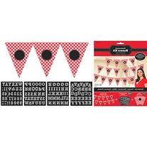 Amscan Classic Picnic Party Gingham Personalized Pennant