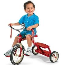 Radio Flyer Classic Red Dual Deck Tricycle- children's