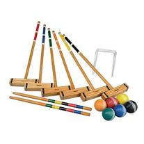 Franklin Sports Classic Series 6 Player Croquet Set