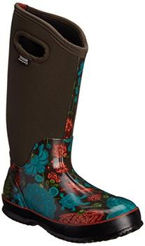 Bogs Women's Classic Tall Winter Blooms Waterproof Insulated