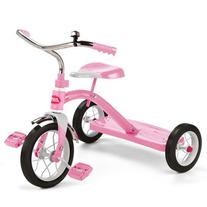 """Radio Flyer 34G, Classic 10"""" Tricycle, Pink"""