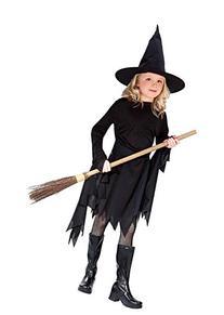 Classic Witchy Witch Black Child Costume Medium