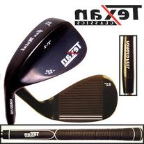 TEXAN CLASSICS GUN METAL 52° GAP WEDGE