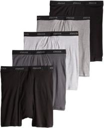 Hanes 76925P Classics Men Tagless No Ride Up Boxer Briefs