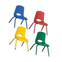 12 inch Classroom Plastic Stack Chair With Traditional