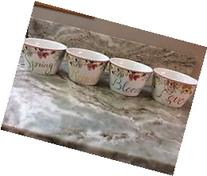 222 Fifth Claudette Cup & Saucer Set