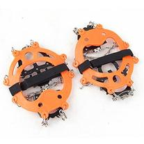 Vdealen 2 PCS 12 Teeth Claws Crampons Non-slip Shoes Cover