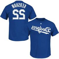 Clayton Kershaw Los Angeles Dodgers Blue Name and Number
