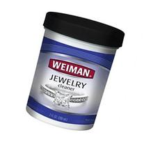 Weiman Jewelry Cleaner with Brush, 7 oz