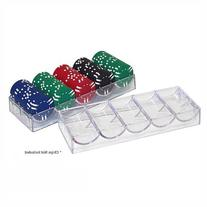 Trademark Poker Clear Acrylic Poker Chip Trays