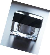 Topwon Clear Acrylic Jar Makeup 10 ml - 3 Pack