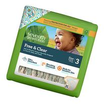 Seventh Generation Free & Clear Sensitive Skin Baby Diapers