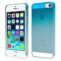 eForCity® Clear Sky Blue Waterdrop Raindrop Hard Case