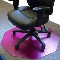 Cleartex 9Mat Ultimat Chair Mat for Low/Medium Pile Carpets