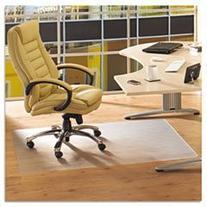 "Floortex Phthalate-Free PVC Chairmat for Hard Floors, 36"" x"