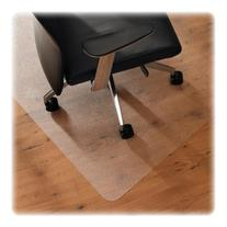 ClearTex XXL Ultimat Chair Mat, 48 x 119, No Lip, Clear