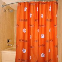 College Covers Clemson Tigers Printed Shower Curtain Cover,