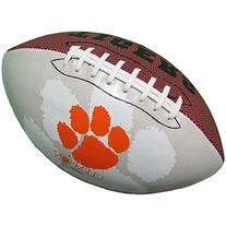Clemson Tigers Official Size Synthetic Leather Autograph