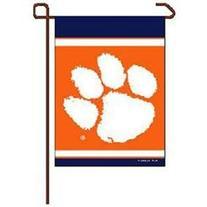 Clemson Tigers Official Logo 11x15 Garden Flag