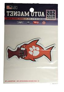 Clemson Tigers Small Rival Fish Magnet
