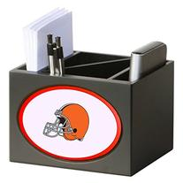Cleveland Browns Wooden Desk Organizer Pen Holder