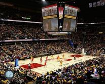 Cleveland Cavaliers Quicken Loans Arena NBA Action Photo