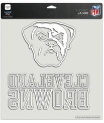 Cleveland Browns 8x8 Die Cut Window Cling