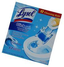 12 Pack Lysol Click Gel Ocean Fresh Scent Automatic Toilet