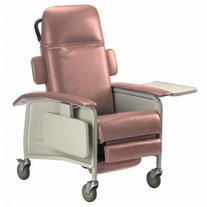 Clinical 3-Position Recliner, Rosewood