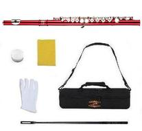 Glory Closed Hole C Flute With Case, Tuning Rod and Cloth,