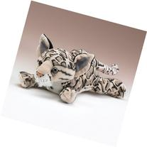 "Clouded Leopard Lying By Wildlife Artists 14"" L"