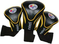 Pittsburgh Steelers Golf Club Head Covers 3 Pack by Team