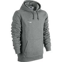 Nike Mens Classic Club Swoosh Pullover Hoodie-Black-Large
