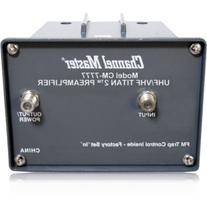 Channel Master CM-7777 TITAN 2 Antenna Preamplifier - High