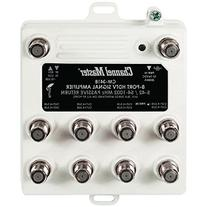 Channel Master CM3418 8-Way Commercial Grade Distribution