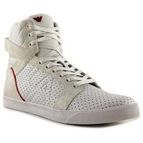 Armani Jeans CM568 Mens Leather Fashion Sneakers