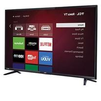 "TCL  48"" 1080p 120Hz CMI Smart LED Backlit Roku TV -"