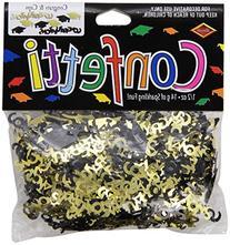 Beistle CN020 Congrats and Caps Confetti, 0.5 ounces, Black/