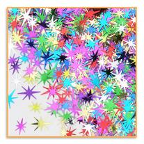 Beistle CN179 1-Pack Decorative Starbursts Confetti for