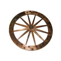 "United General Supply Co Inc 36"" Deluxe WoodenWagonWheel"