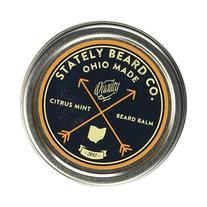 Stately Beard Co. - Citrus Mint Beard Balm - All Natural and